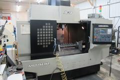 Amera Seiki A3 CNC Vertical Machining Center with 350PSI Through Spindle Coolant and 12,000 Max RPM Spindle