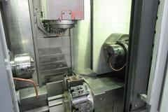 Mori Seiki NTX1000/SZ CNC Mill/Turn Center with Sub Spindle, B-Axis Milling Head, 76 Station Tool Changer, and Lower Turret