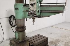 "Ooya RE2-1300A 4' x 13"" Radial Arm Drill with Box Table"