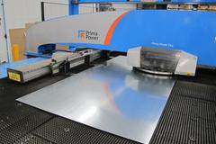 Finn-Power Prima Power E6X CNC Servo-Electric Turret Punch with Compact Express Load/Unload Work Stocking System