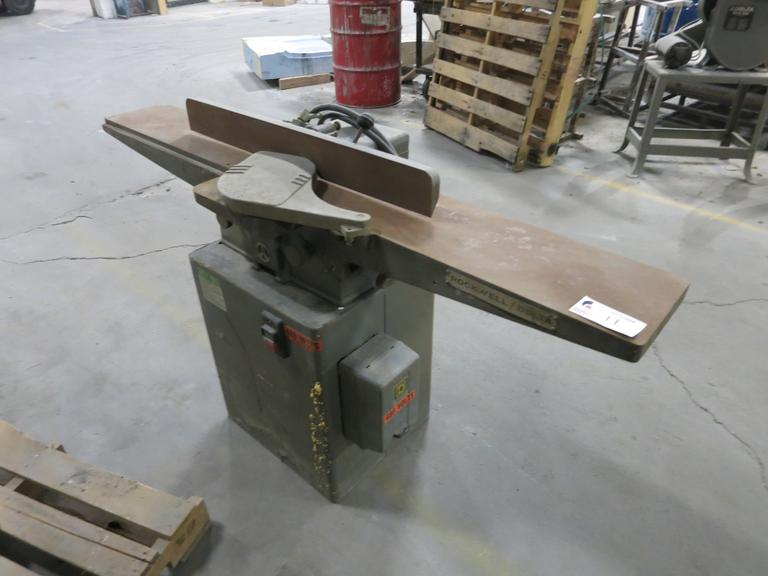 "Rockwell Model 37-315 7"" Wood Jointer"