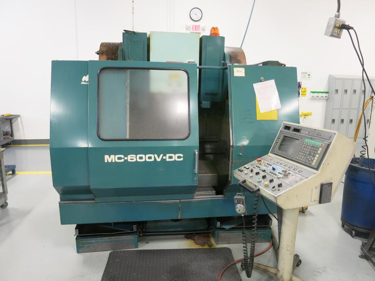 Matsuura MC-600V-DC Twin Spindle CNC Vertical Machining Center