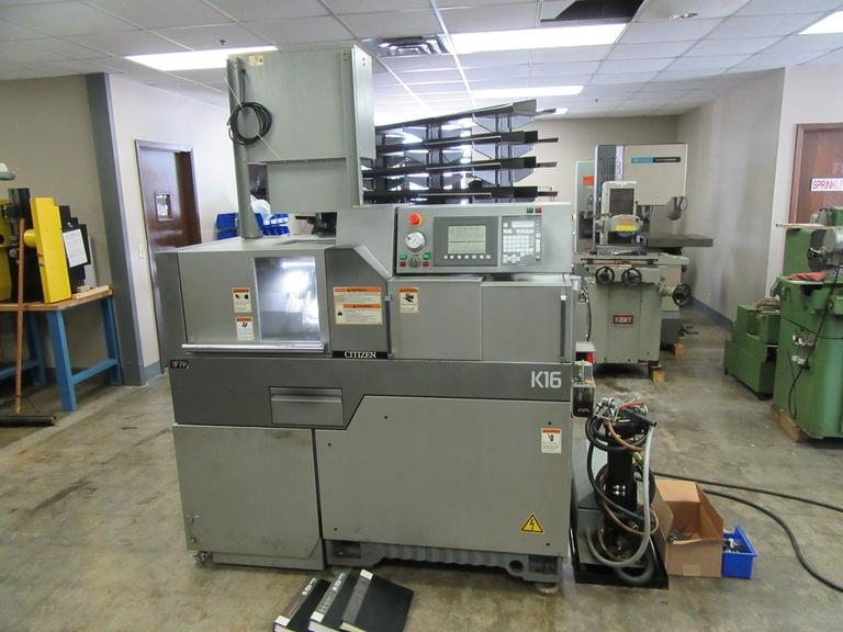 Citizen K16 VIIP CNC Swiss Screw Machine
