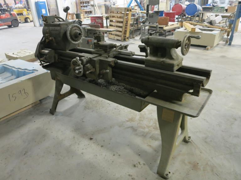 "LeBlond Regal 15"" x 40"" Engine Lathe with Taper Attachment, 5C Collet Chuck"