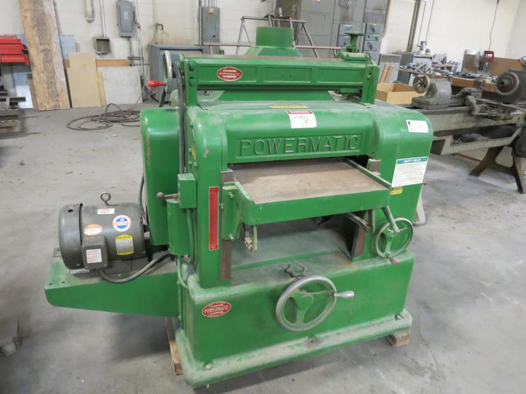 "Powermatic Model 221 20"" Wood Planer"