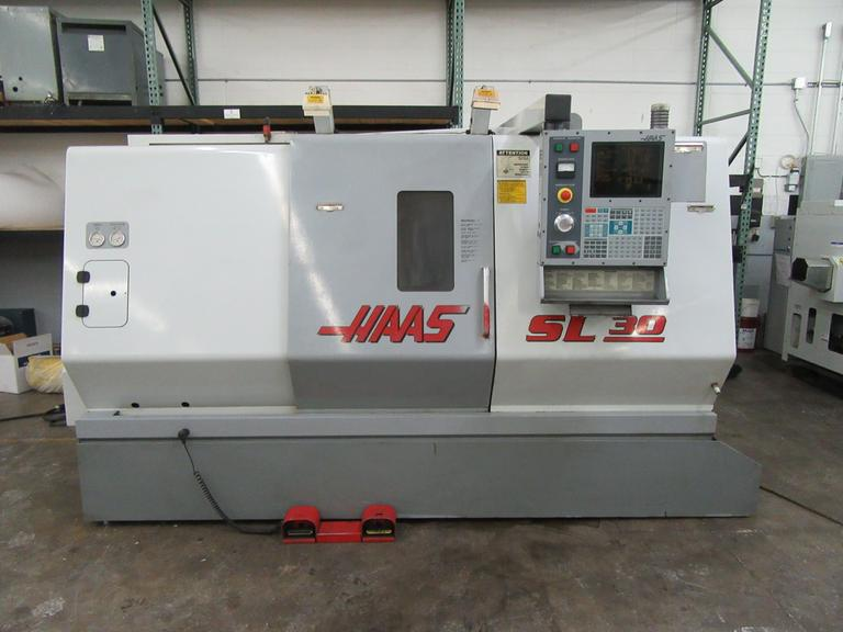 Haas SL-30 CNC Turning Center with Tailstock