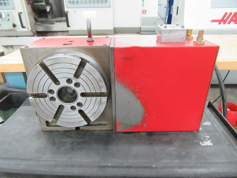 Haas HRT-210 Programmable Rotary Table wth Brush Drive Motor