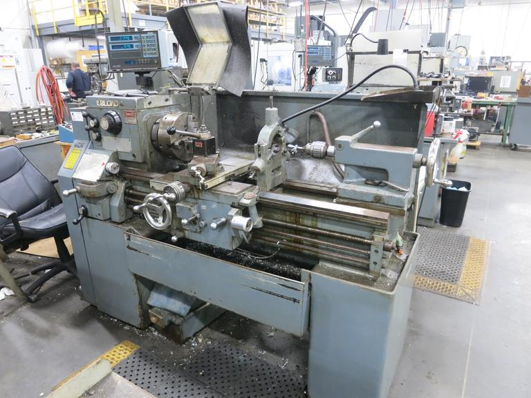 "LeBLond Regal 15"" x 32"" Engine Lathe with Servo-Shift and 2-Axis Acu-Rite Digital Readouts"