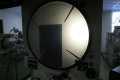"Gage Master Series 80 Model 89 Optical Comparator, 21"" Screen with Quadra-Chek 2000 Multi-Processor Digital Readout"