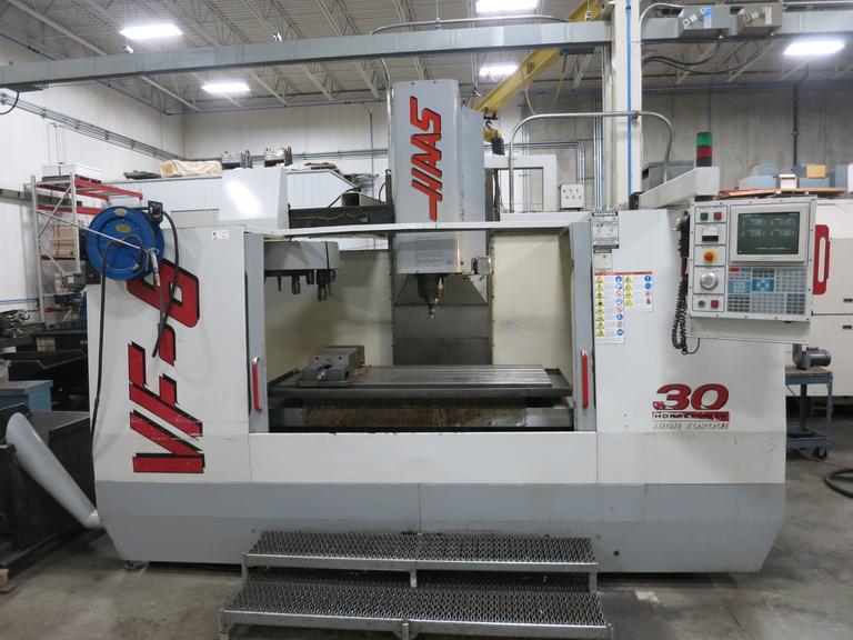 Machines Used | Haas VF-6/50 Taper CNC Vertical Machining