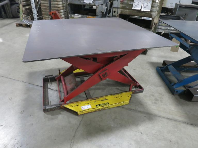 Machines Used | Southworth Rotating Scissor Lift Table, 3,000