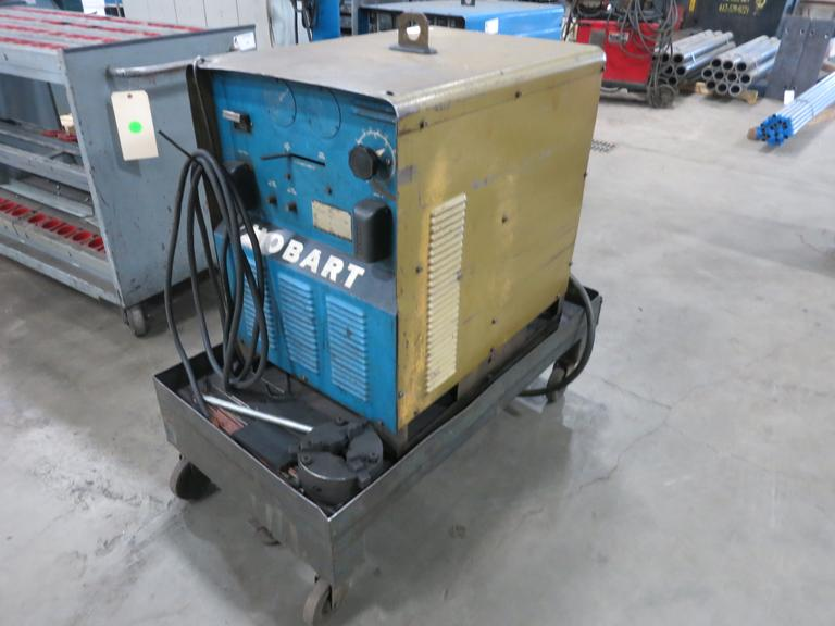 Hobart Model R-300 300 Amp Welding Power Supply on Cart, 300 Amps @ 60% Duty Cycle