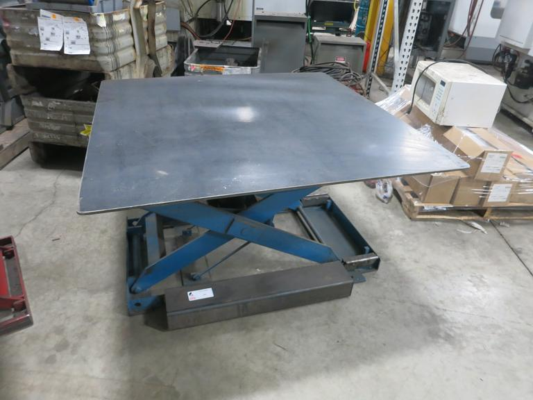 Machines Used | Southworth Rotating Scissor Lift Table