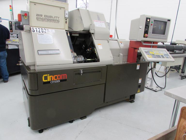 Citizen M20 CNC Swiss Screw Machine with LNS Triton 12' Bar Feed