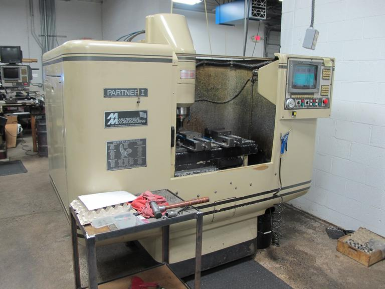Milltronics Partner 1 Series H CNC Vertical Machining Center