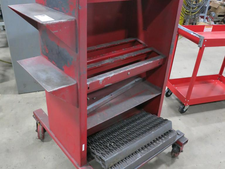 50 Taper Tool Cart with 14 Stations