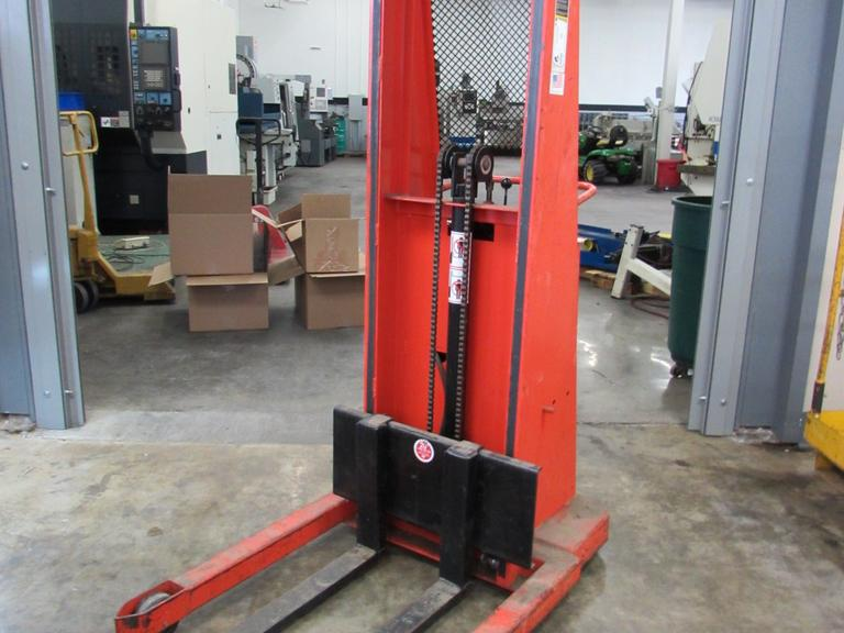 Presto Model B862-1500 Electric Walk Behind Forklift