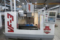 Haas VF-3 CNC Vertical Machining Center with 2-Speed Gearbox and 4th Axis Drive