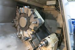 "Daewoo Puma 350A CNC Turning Center with 15"" Chuck, Tailstock and Chip Conveyor"