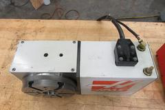 "Haas HRT-210 8.25"" Programmable Rotary Table wth Brush Drive Motor, Cable and Connector"