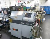 Star SH-12 CNC Swiss Screw machine, Single Spindle with Gravity Bar Feed