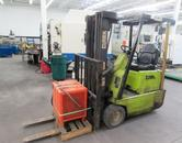 Clark Model TM15S  Electric Fork Truck, 2,250 Lb Capacity with Battery Charger