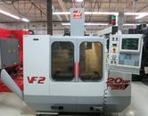 Haas VF-2 CNC Vertical Machining Center W 4th Axis Drive, 2-Speed Gearbox