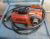 Haas HA5C Programmable Rotary Table, with Lever Collet Closer, Brush Type Drive Motor, Cable and Connector