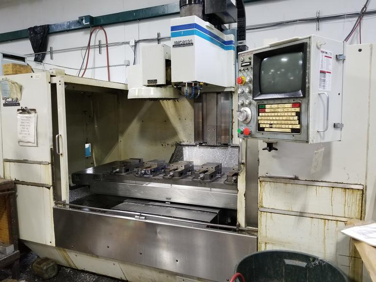 Fadal VMC6030 4-Axis CNC Vertical Machining Center with Fadal VH-65 Programmable Rotary Table