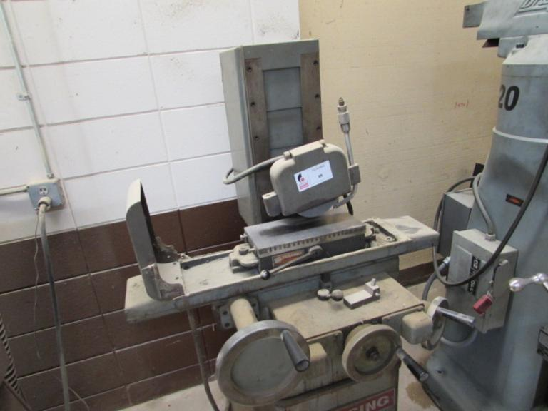 "Clausing Surface Grinder.  Hand Feed Machine, 6""x12"" Capacity, 7"" Grinding Wheel Capacity, Walker Ceramax 6""x12"" Permanent Magnetic Chuck"