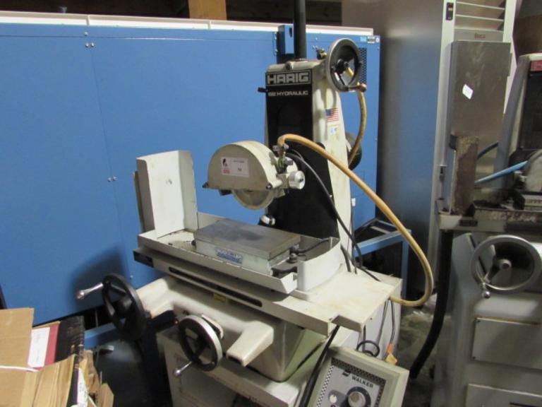 Harig 612 Hydraulic Surface Grinder with Walker Electromagnetic Chuck