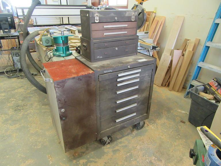 Machines Used Kennedy 7 Drawer Rolling Tool Chest With