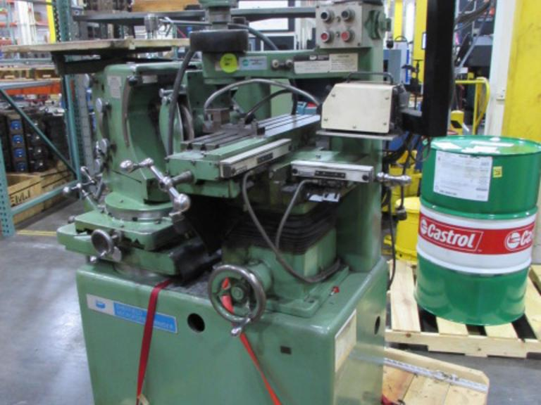 Sheffield 122-VA Microform Grinder with Acu-Rite 2-Axis DRO