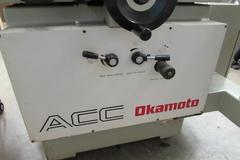 Okamoto ACC-8-20DX Surface Grinder with Incremental Downfeed, Magnetic Chuck and Coolant