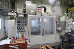 Haas VM-3 CNC Vertical Machining Center With 40 Station Side-Mount ATC, Coolant Thru Spindle, &  Renishaw Wireless Intuitive Probing