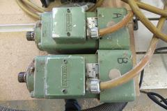 (2) Perske 3HP 21000 RPM Spindle Motors with Motortronics Model CSD-203-N Control