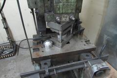 Machines Used | Bliss No  3 OBI Punch Press  Flywheel Type