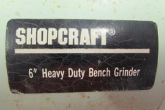 "Shopcraft 6"" Double End Bench Grinder"