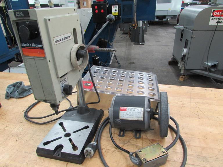 Machines Used | (3) Items: Black & Decker Variable Speed