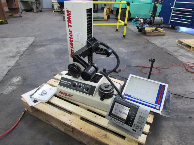 Parlec Series 975 Tool Presetter with Quadra-Chek 200 Advanced 2-Axis DRO