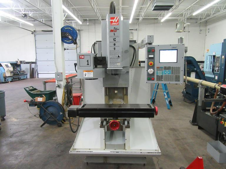 Haas TM-1 CNC Vertical Toolroom Mill with 10 Station Automatic Tool Changer