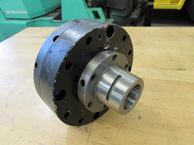 Pneumatic 5C Collet Closer with Hardinge Cam Lock Taper