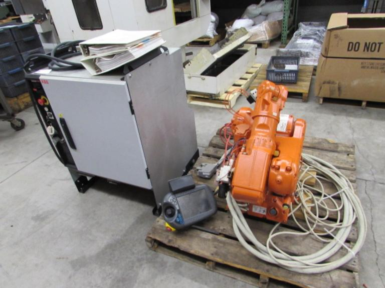 Machines Used | ABB IRB 140 5-Axis Robotic Arm with