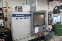 Mori Seiki MV-40 CNC Vertical Machining Center with Twin Arm Automatic Tool Changer