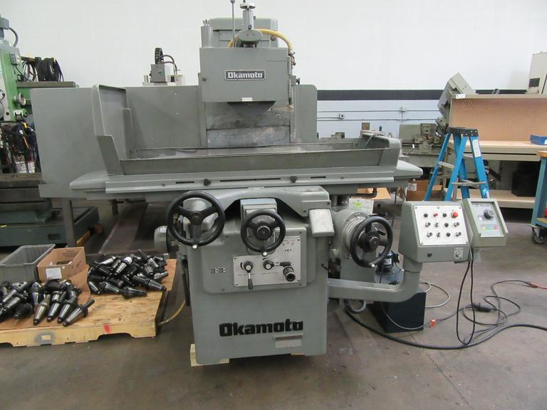 Okamoto Accugar 3 Axis Automatic Surface Grinder