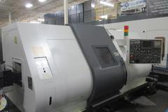 Nakamura Tome Super NTM3 Dual Spindle 3-Turret Turning Center with Live Milling
