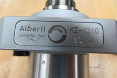 Alberti KZ-1510 ER25 Collet Cross Drill Live Tool - Like New, Dealer Demo