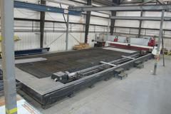 Baykal BPL-H 4014 CNC Plasma Cutting System with 5-Axis Bevel Head and Programmable Tube Cutting Station, Hyperthem HyDefinition HPRXD400 Plasma Supply Unit , and 6 Position Drill / Tap Spindle