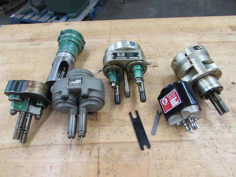 Machines Used | Multi-Spindle Drilling Attachments, Assorted