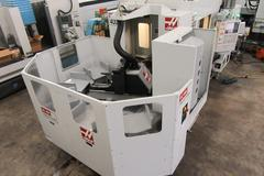 Haas EC-400PP CNC Horizontal Machining Center with Haas 6- Station Pallet Changer, Probing, 4th Axis and Thru Spindle Coolant